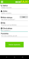 Screen z android aplikace